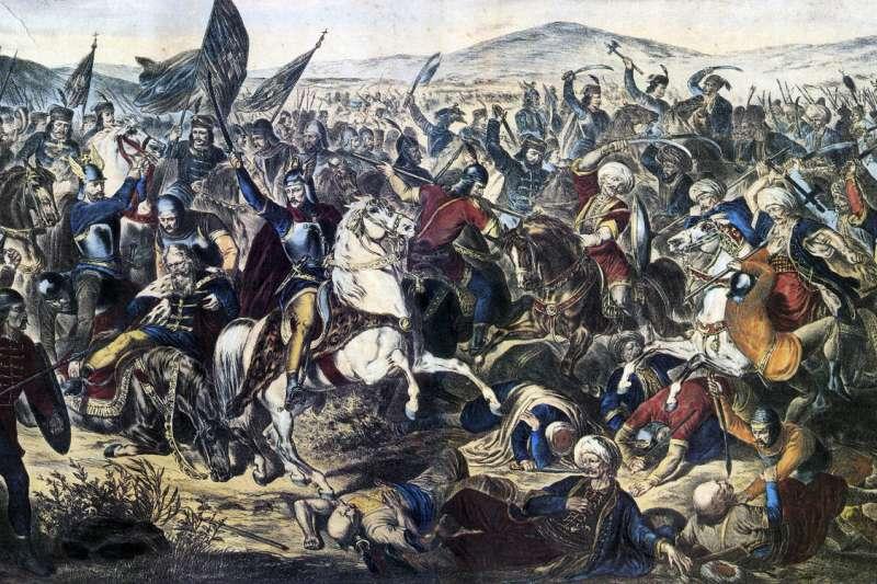 1389年的「科索沃戰役」(Battle of Kosovo)(Wikipedia / Public Domain)
