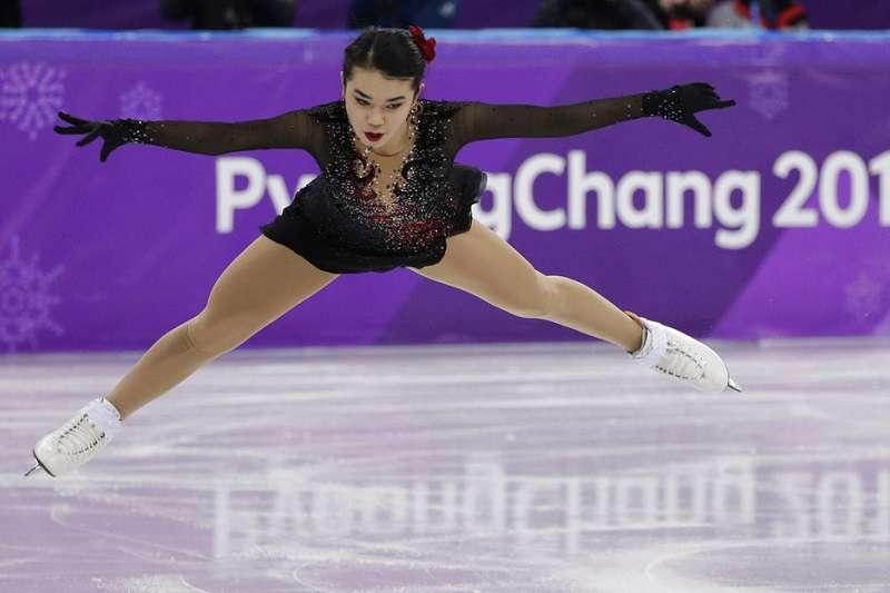 台裔花式滑冰選手陳楷雯會繼續加強自己,再向2022北京冬奧邁進。(美聯社)