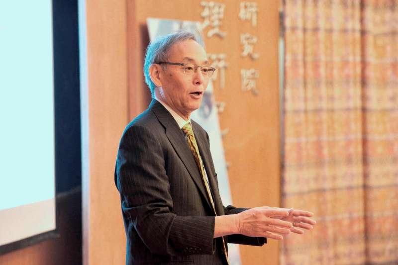 2018-02-28-中研院院士、美國前能源部長朱棣文。(中研院提供)
