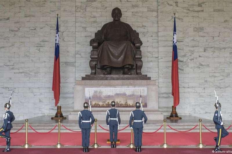 台灣人的認同感在發生變化。(德國之聲)