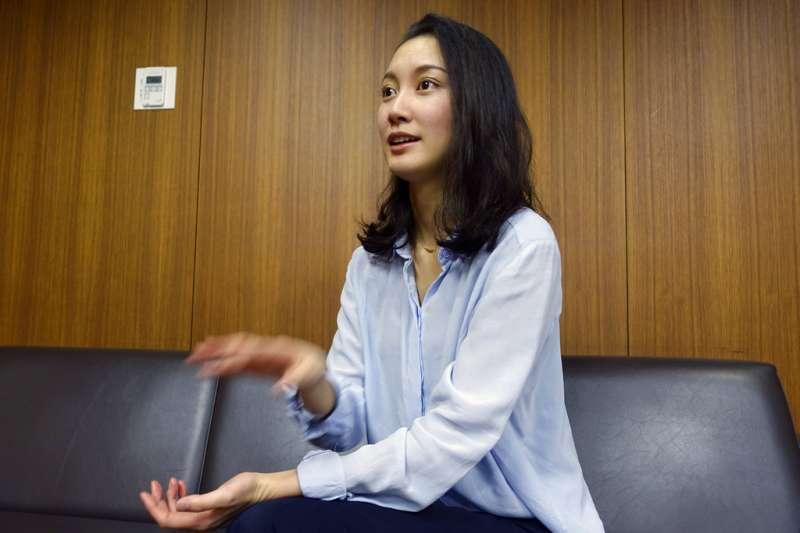 伊藤詩織打破了日本對性侵話題的沈默。(美聯社)