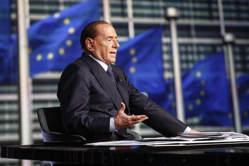 現年81歲的義大利前總理貝魯斯柯尼,將帶領義大利力量黨參與3月4日的國會大選。(AP)