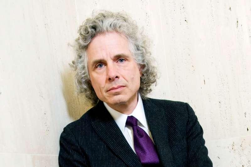 知名暢銷作家及心理認知學家史迪芬.平克(Steven Pinker)。(AP)