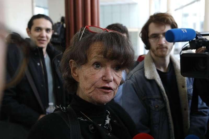 兒童權利組織「 COFRADE」的會長瑪可(Armelle Le Bigot Macaux)。(美聯社)