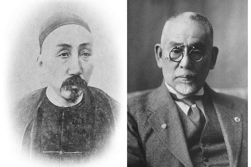 劉銘傳與後藤新平(圖/後製 取自wiki)