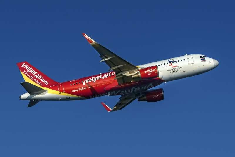 泰越捷宣布將開通泰國國內航線(圖/越捷航空提供)