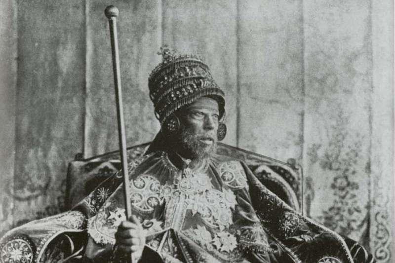 衣索比亞(Ethiopia)傳奇國王孟尼利克二世(Menelik II)(Wikipedia / Public Domain)