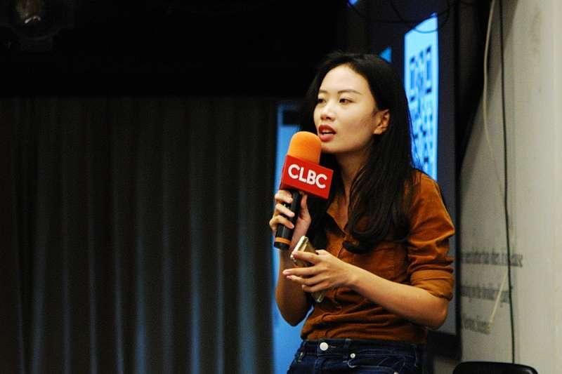 曾在台灣留學、長年關注中國人權議題,中國記者趙思樂現身演講基督徒遭打壓實情(柯智元攝影;世界微光提供)