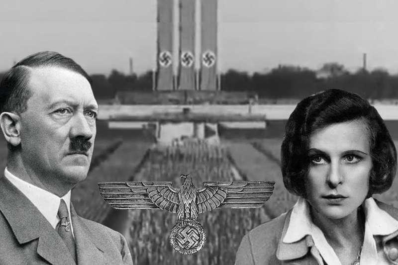 希特勒深情叫她「我的完美德國女人」、指定她當納粹帝國的御用導演,但卻因為一個錯誤,讓她臭名昭著70年。(圖/取自youtube)