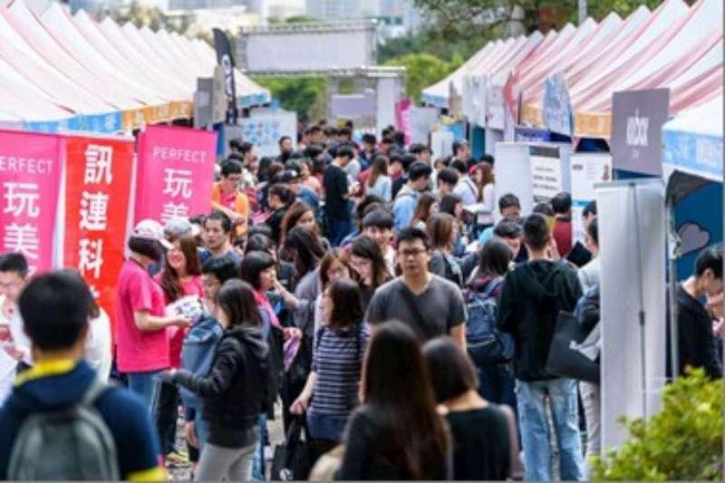 新竹市首場就業博覽會,將在明(10)日於國立交通大學舉行,提供逾1萬8千個工作職缺創下歷年來之最。(新竹市政府提供)