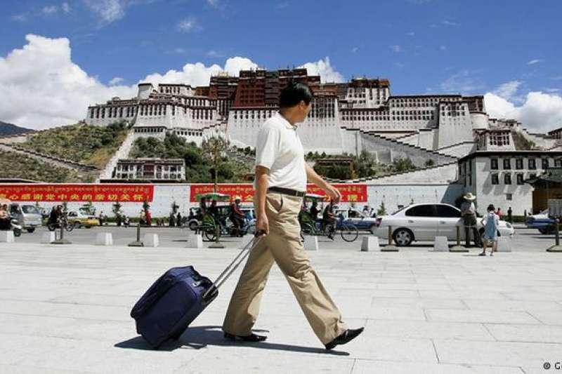 3月10日是西藏抗暴日,圖為西藏拉薩的布達拉宮。(德國之聲)