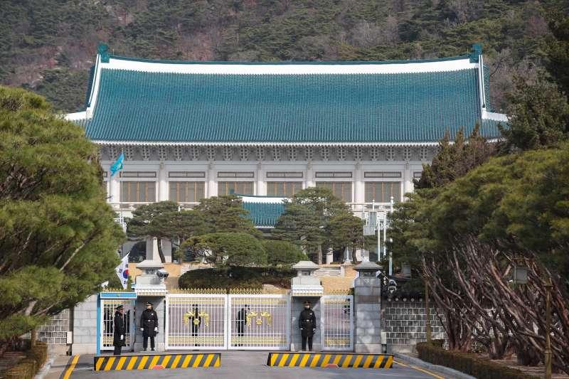 20180307-慰安婦專題,韓國首爾,韓國總統府青瓦台。(顏麟宇攝)
