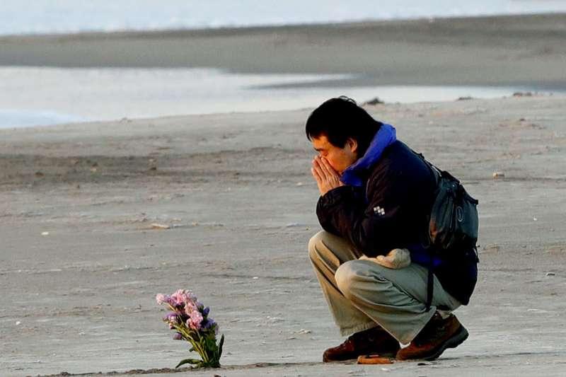 2018年3月11日,日本311大地震屆滿7周年(AP)