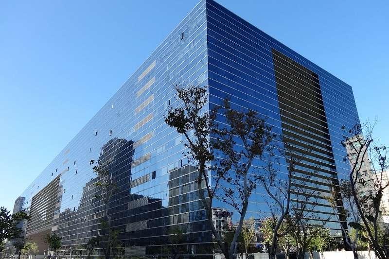 美倫美奐的台中市政府大樓。(台中市警察局官網)