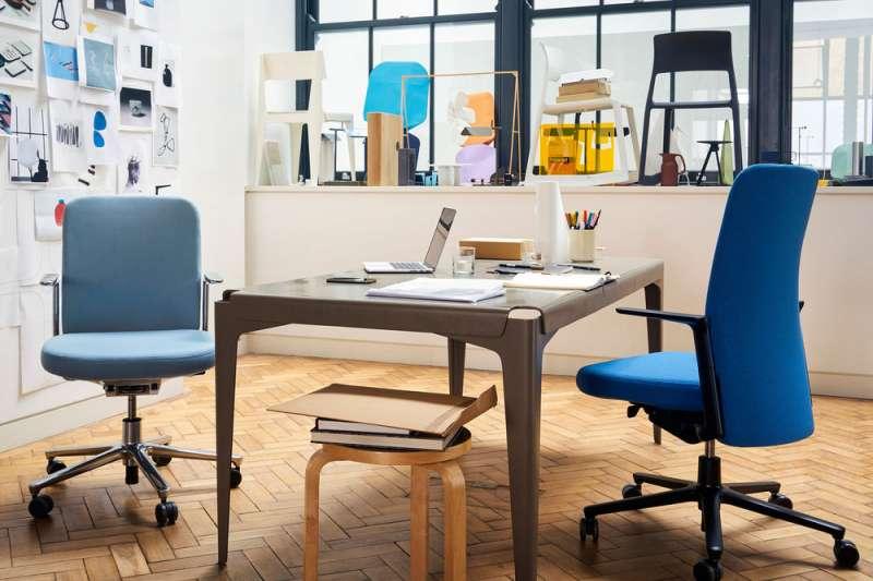 主打「安靜」的辦公椅Pacific Chair,擁有區別於一般電腦辦公椅的簡潔設計,能夠無縫地融入任何辦公空間。(圖/Pacific Chair)