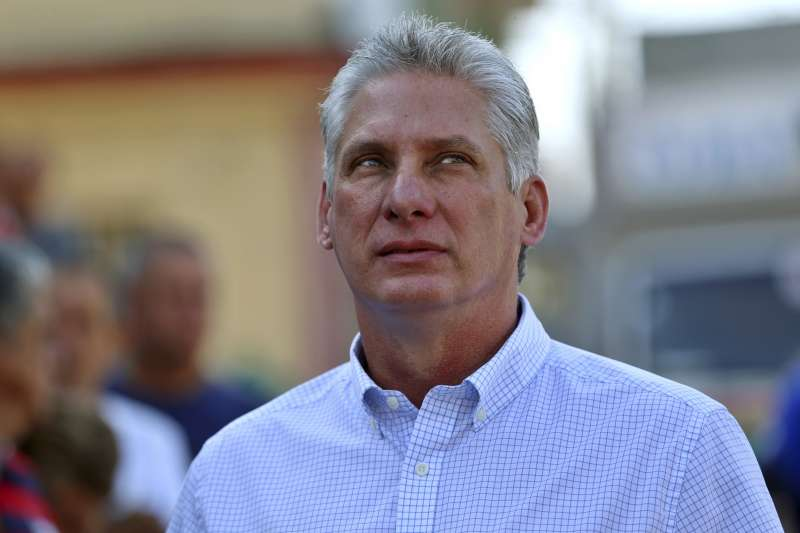 古巴新總統的熱門人選迪亞斯(AP)