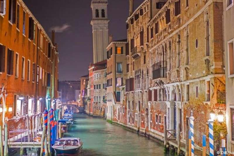 冬天的威尼斯依然光彩奪目。(德國之聲)