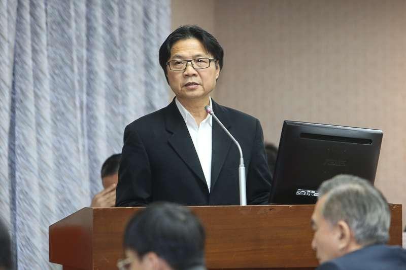 內政部長葉俊榮,出席立法院委員會,部會首長報告並備詢。(陳明仁攝)