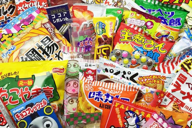 日本食品的秘密——三分之一原則。(圖/みんなのおかし市場,作者提供)