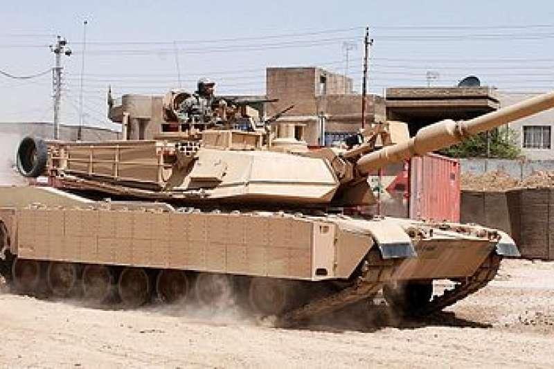 美軍M1艾布蘭主力戰車。(維基百科/公用領域)