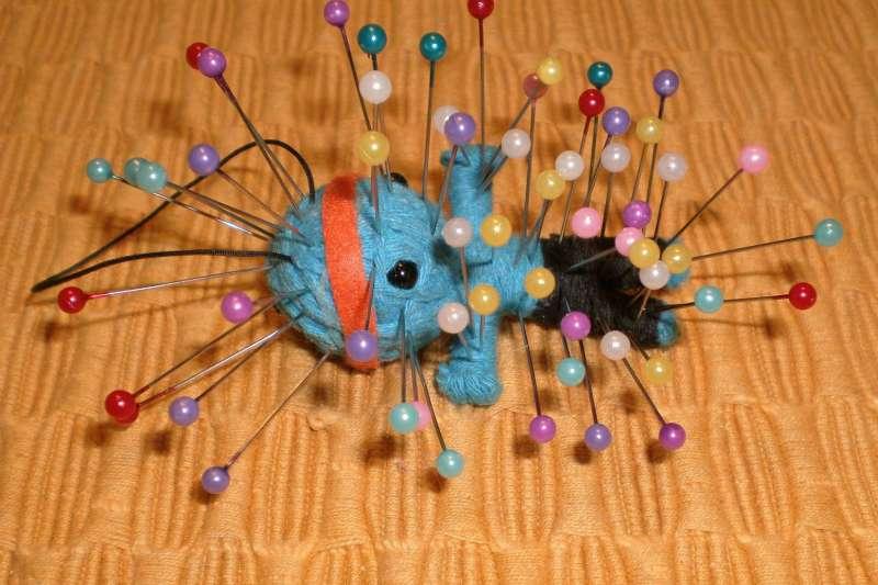 巫毒娃娃。(取自Wikipedia,BeatrixBelibaste攝/BY CC3.0 )