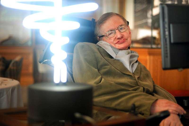 物理學家史蒂芬霍金2018年3月14日辭世。(美聯社)