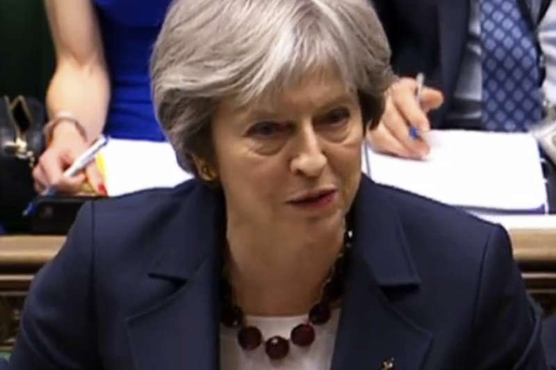英國首相梅伊宣布祭出制裁,包括驅逐23名俄羅斯外交官(AP)