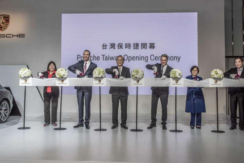 Porsche Taiwan正式在台營運(圖/Porsche提供)