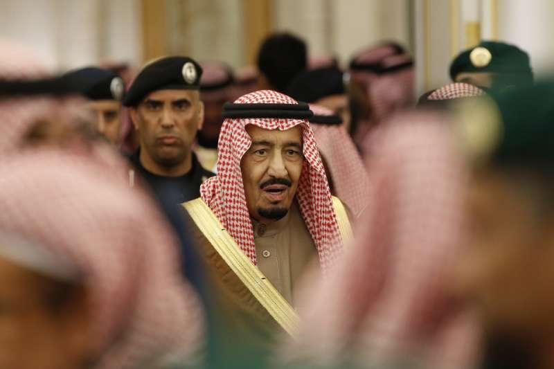 沙烏地阿拉伯國王薩勒曼。(美聯社)
