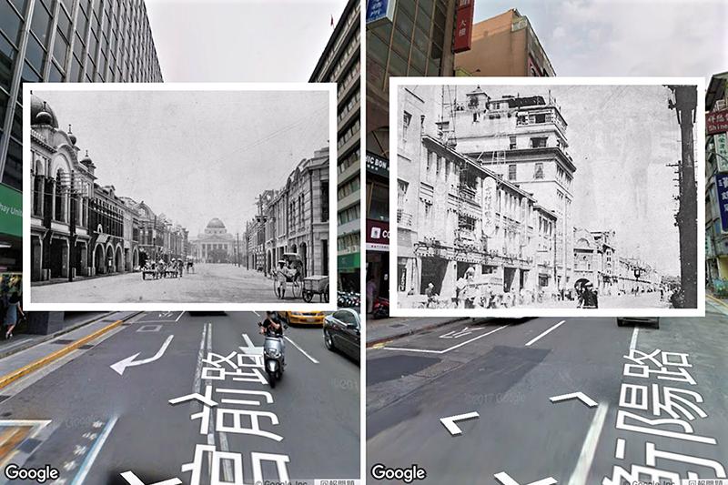 中研院的「歷史地圖散步」系列製作團隊,結合老照片、臺灣古地圖、與Google Map,讓你手機一滑歷史就在眼前!(圖/臺北歷史地圖 APP)