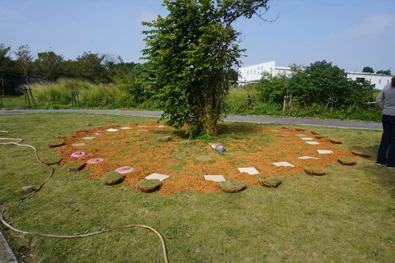國內推廣的環保葬大致可分樹葬(見圖)、花葬,又台灣四面環海,所以部分臨海縣市也舉辦海葬。(台中市生命禮儀管理處提供)