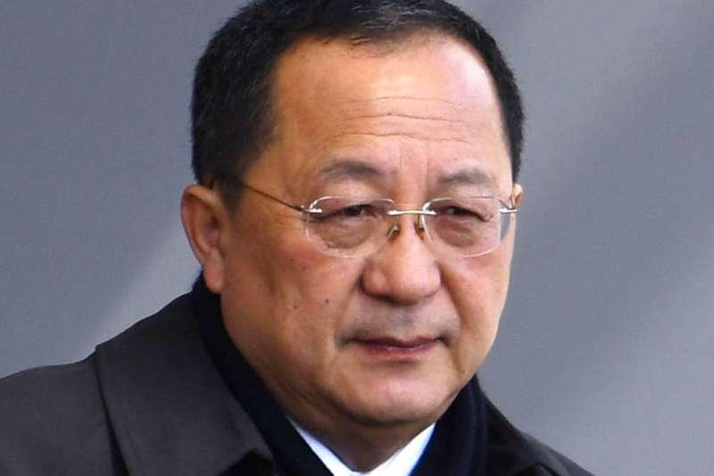 北韓外務相李勇浩。(美聯社)