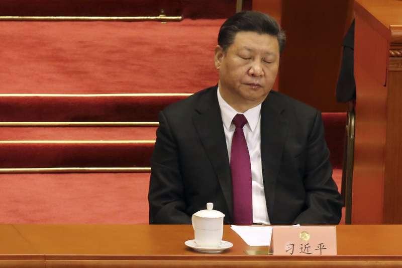 中國兩會,習近平(AP)