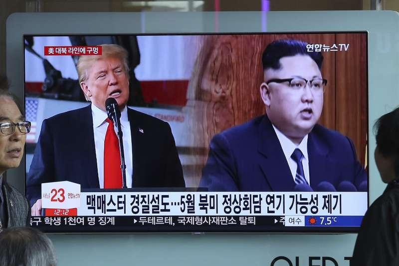 「這次川金會代表北韓與美國另一個層次的外交進展。這場會談最後會造成什麼效應與結果仍不得而知,但可以確定的是,台灣將成為這次會談的『另類勝利者』。」(AP)