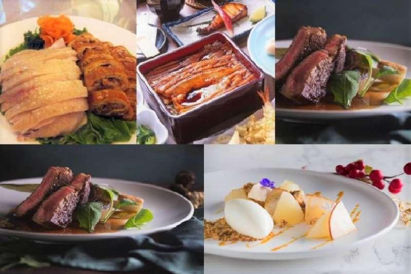 誰說冠上米其林光環的餐廳一定得花上大把大把的鈔票?日式、法式、中式、台式,想吃什麼應有盡有,一道道美味佳餚任你選!(圖/女子學提供)