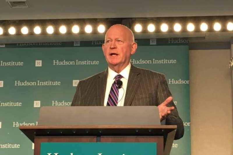 哈德遜研究所中國戰略中心主任白邦瑞。(美國之音)