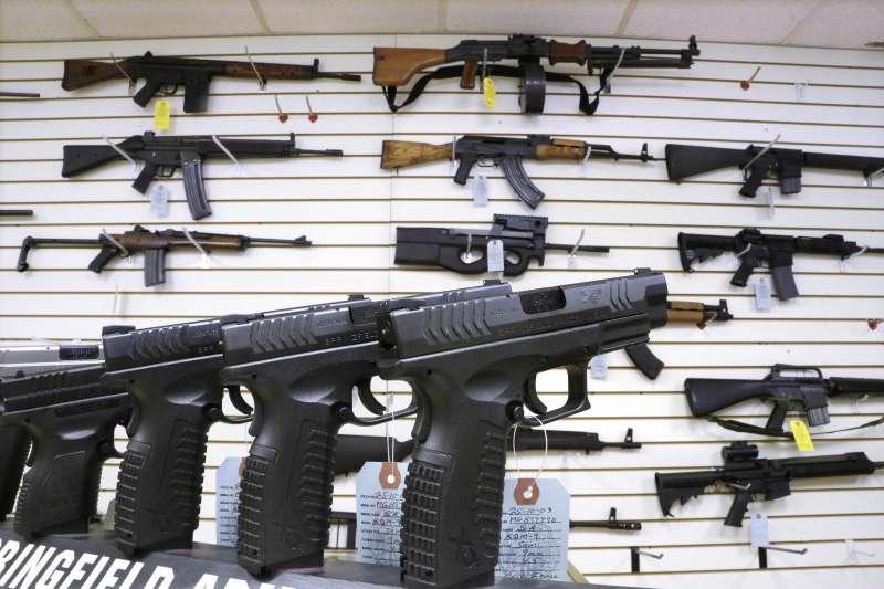 美國槍枝管制(AP)