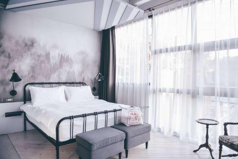 5間適合2個人入住的台南情侶住宿 ,除了價格合理,更能好好體驗共同生活的過程!(圖/果核抵家@facebook)