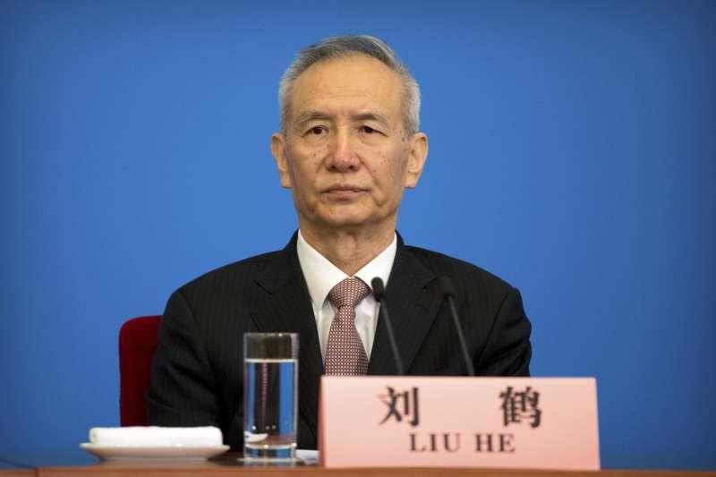 2018年中國人大,新任副總理劉鶴(AP)