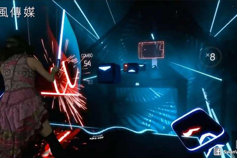 還在玩手遊?落伍了!趕快加入絕地武士的行列,體驗最新的VR音樂節奏遊戲!