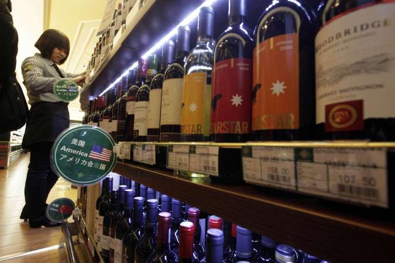葡萄酒(飲酒過量有害健康)(AP)
