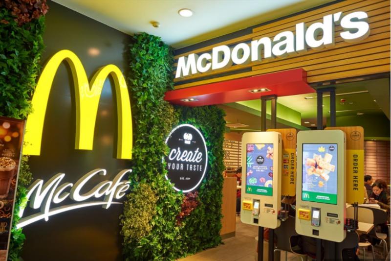 麥當勞終於可以刷卡啦!(圖/數位時代提供)