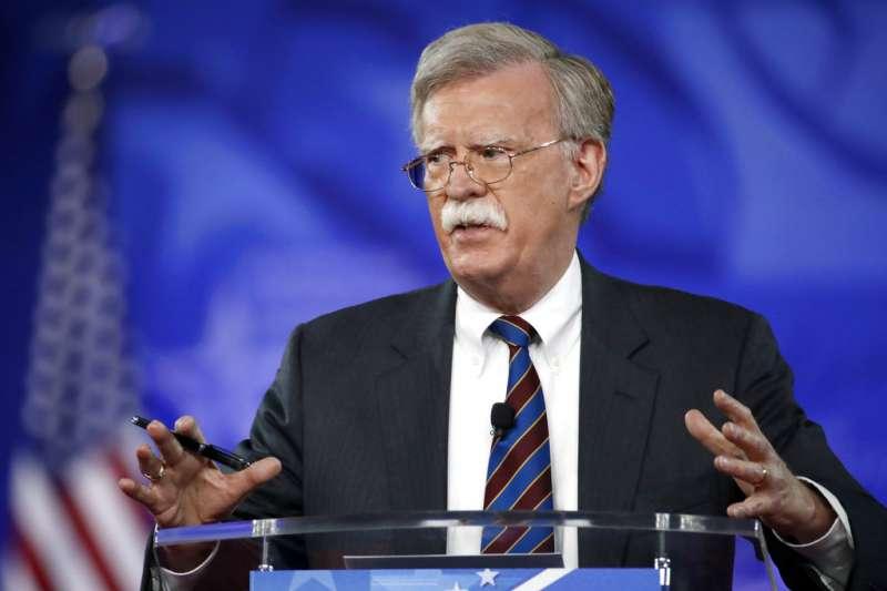 美國新任總統國安顧問波頓。(美聯社)