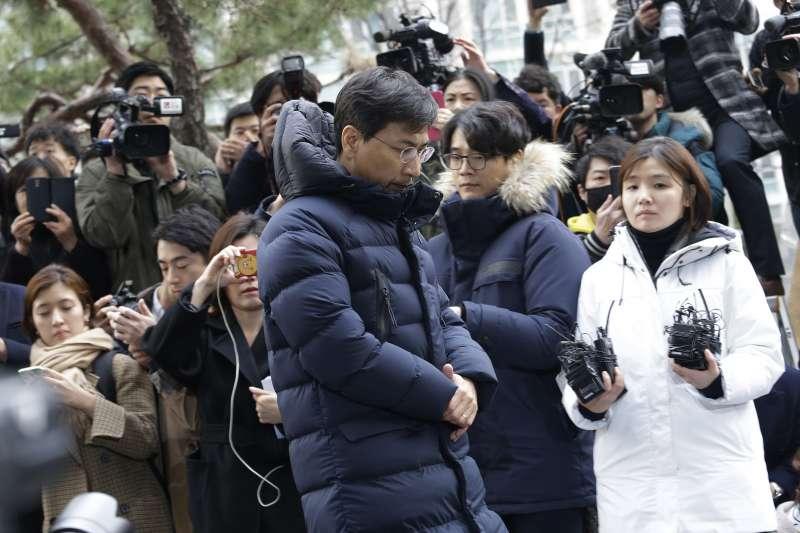 南韓「#MeToo」運動,涉嫌性侵的前忠清南道知事安熙正(AP)