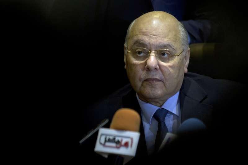 2018年3月,埃及舉行總統選舉,軍事強人塞西篤定當選,默默無聞的政客穆沙奉命陪選(AP)