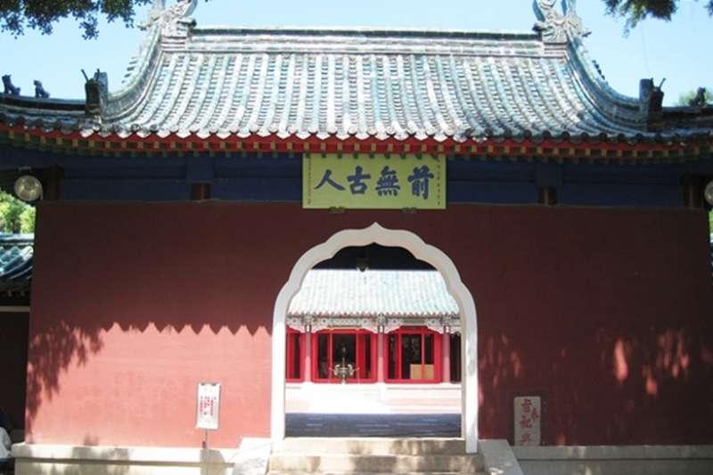 原來台南延平郡王祠,一開始拜的不是鄭成功?(圖/維基百科)