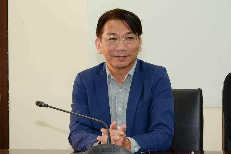20180327-時代力量記者會,立法委員徐永明。(甘岱民攝)