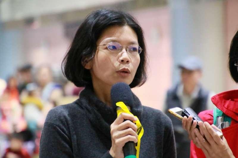 台灣非政府組織工作者李明哲的妻子李凈瑜(見圖)獲准於22日赴中探監。中方今年1月曾以李凈瑜「干擾監獄正常執法工作」為由,禁止她探視3個月。(資料照,李明哲救援大隊提供)