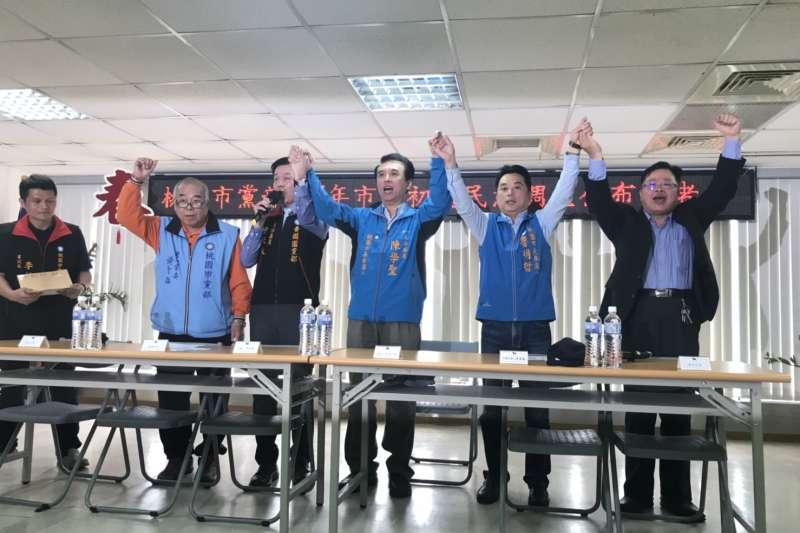 國民黨桃園市長初選,藍委陳學聖以些微差距勝出。(陳學聖辦公室提供)