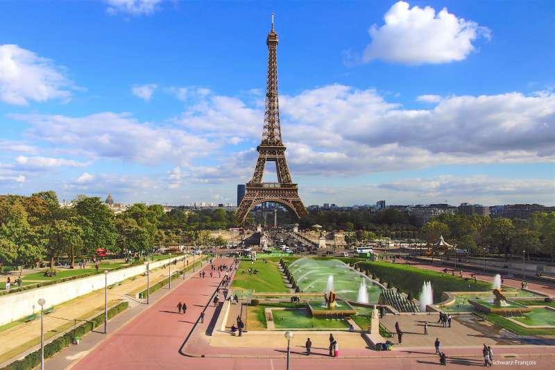 台灣人很喜歡到巴黎旅遊,但巴黎的觀光詐騙集團十分猖獗。(圖/François Schwarz@flickr)